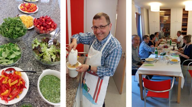Kochen mit Pfarrer Elshoff im Raesfeldhaus Lüdinghausen