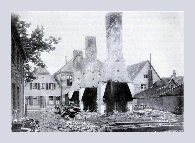 Überreste des Raesfeldhauses in Lüdinghausen